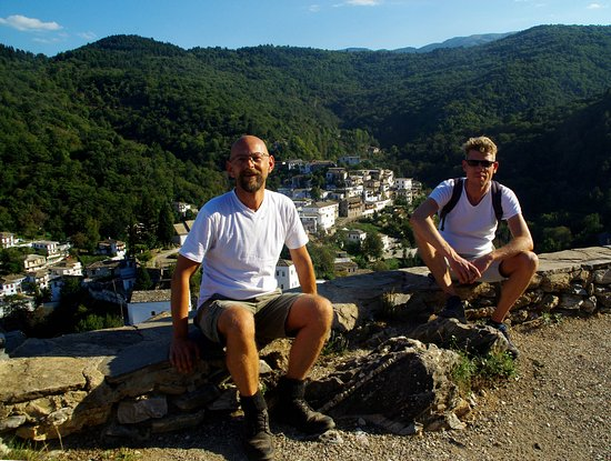 Tyros, Grecia: just a little rest