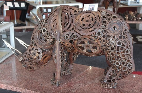 Swakopmund, Namibia: Up-cycling - Exclusive Art