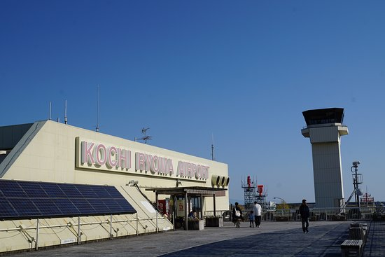 Kochi Ryoma Airport Deck