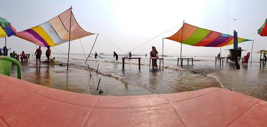 Shack in Udaipur beach