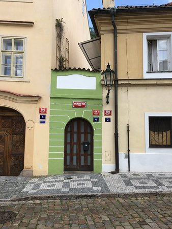 My group enjoyed a tour of Prague's gems and hidden gems...here is one of the hidden gems: the smallest house in Prague.   So many places to see in this beautiful city! I am thankful that I went on a tour with Manao so I didn't miss anything!
