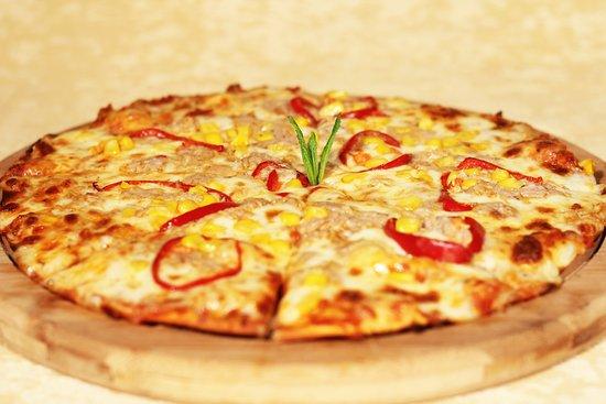 Kule Hotel & Spa Gaziantep: Ton Balıklı Pizza