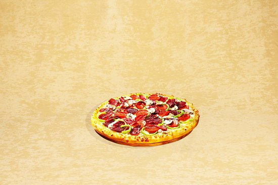 Kule Hotel & Spa Gaziantep: Special Pizza