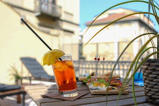 Hotel Diplomatic: Terrazzo panoramico Suite