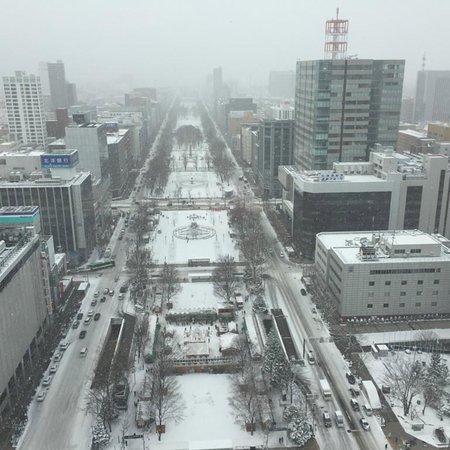 Winter views are poor