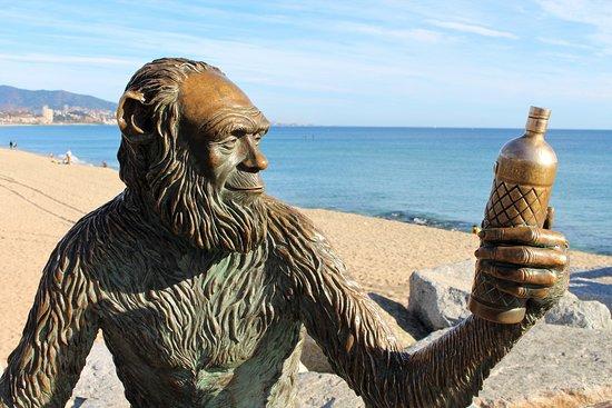 Anis del Mono sculpture