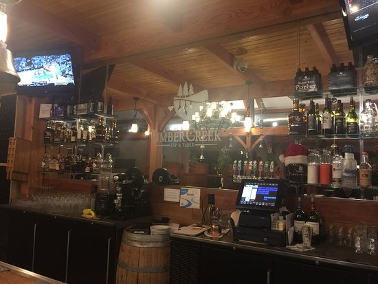 TimberCreek Tap and Table: Bar area