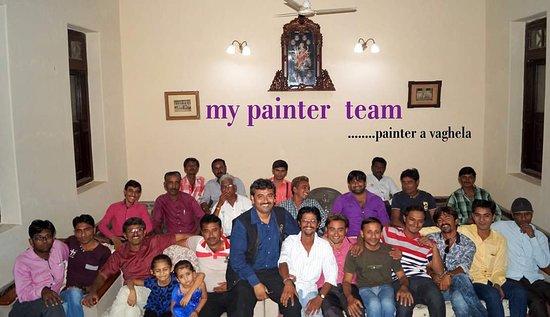 Morbi, Indie: Painter A Vaghela