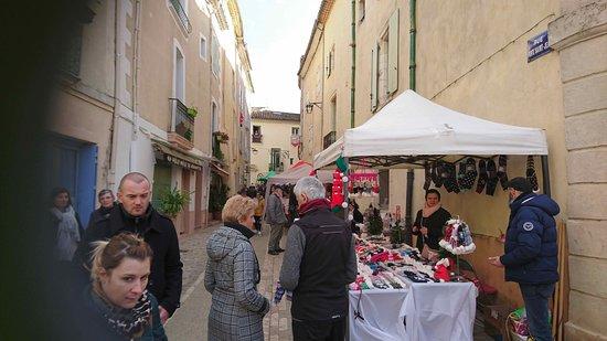 Le marché du village