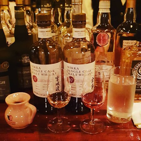 Selection of Japanese whisky