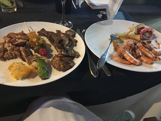 Aonang Buffet: Мясо и морепродукты