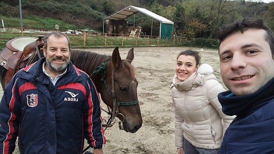 """Baia e Latina, Italia: Noi con Raffaele ed """"Elisabetta"""""""