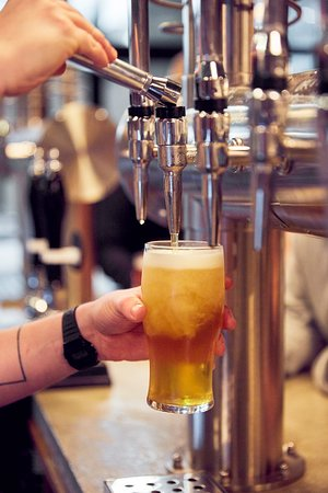 with 4 types of beer brewed on site, you are sure to find the perfect beer for you.