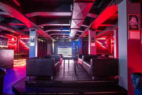 Storm Club: The club has a stylish seating area and a large dance floor
