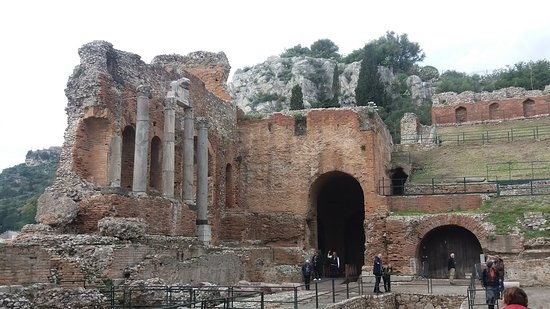 Ancient Theatre of Taormina Photo