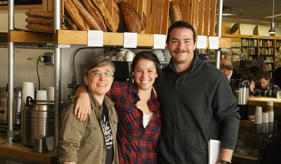 Atticus Bookstore & Cafe: Our stellar staff!