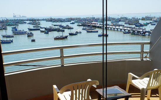 View of Paita Bay, as seen from the balcony of rooms at Marina Del Bay.