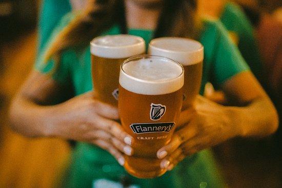 Cervezas de la casa.