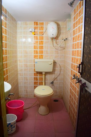 MTDC Holiday Resort Tadoba: Weasturn Toilet IN intreier Room
