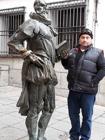En Toledo.. junto a D. Miguel de Cervantes