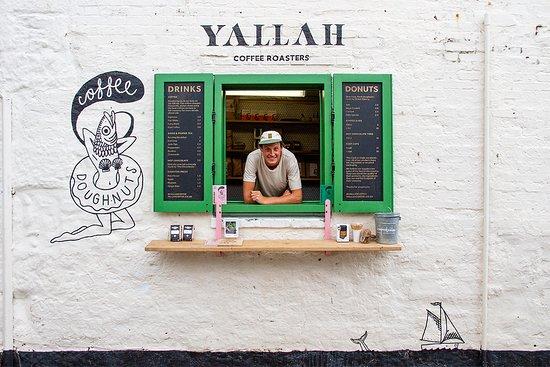 Yallah Coffee Kiosk St Ives Restaurant Bewertungen