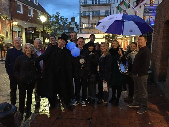Private group booking for the ghost walk.