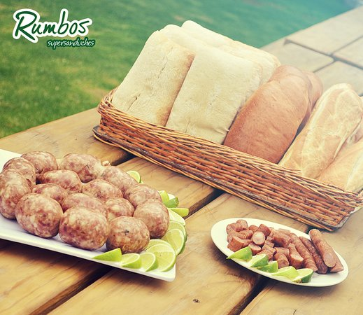 Rumbos Supersanduches: Genovas y cabanos  Con nuestra selección de pan.