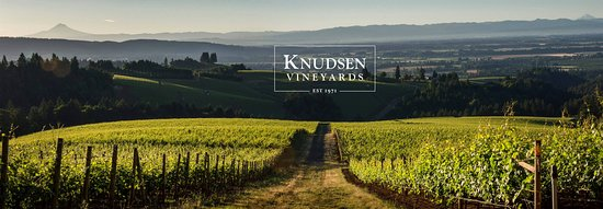 Dundee, OR: Knudsen Vineyards, est. 1971.