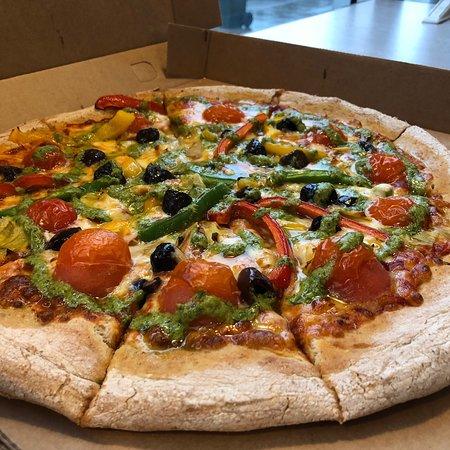 Very Tasty Pizza Nkd Pizza Edinburgh Traveller Reviews