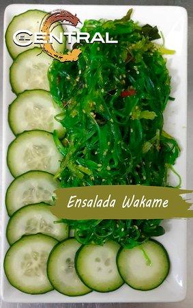 Ensalada wakame.