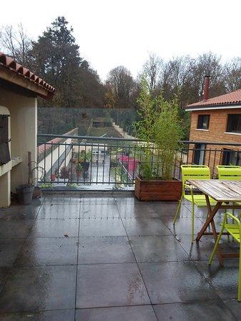 Effet Lodge: Journée pluvieuse à l'extérieur mais effet cocooning à l'intérieur.
