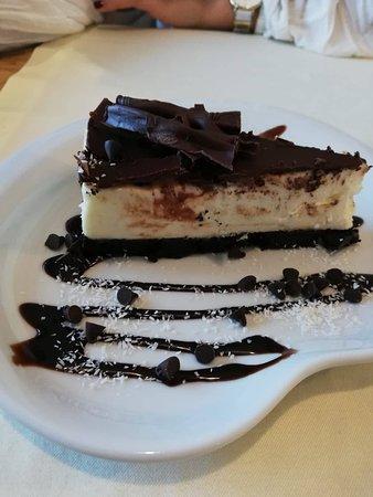 Restaurante Mike Sparken: Cheesecake de chocolate