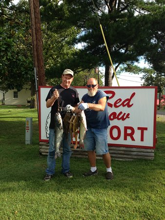 Midway, AR: Cat fishing at Red Arrow Resort