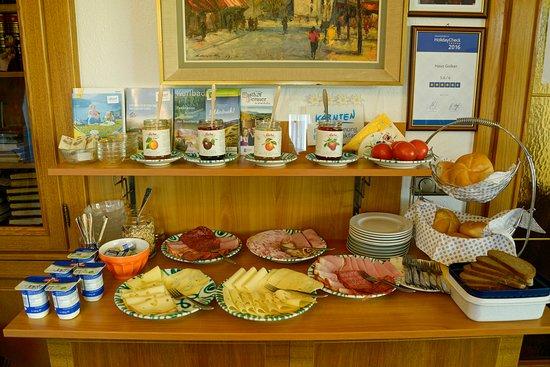 Seeboden, Austria: Frühstücks-Buffet