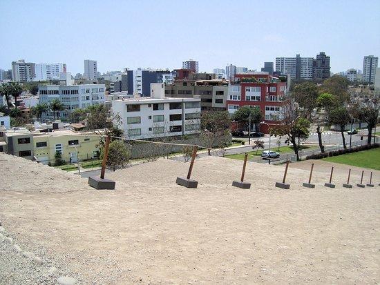 Otra vista de la ciudad desde la cima