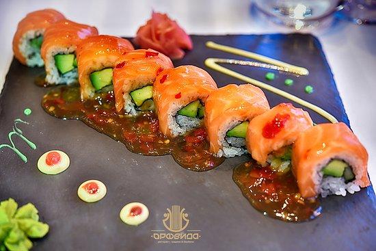 Restaurant Orfeida: Sushi!