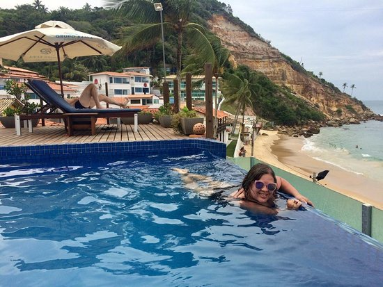 Pousada Bahia Bacana: Show de bola, essa piscina! Amamoooosss....