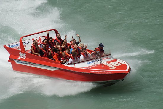 Jet Extreme Boating à Hanmer Springs : a cool spin...
