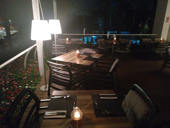 Isrotel Dead Sea Hotel & Spa: dinner  терасса