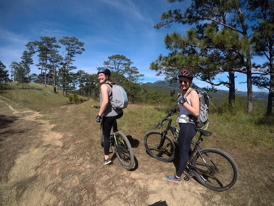 Go on a mountain bike and you are a sleek, sexy champion
