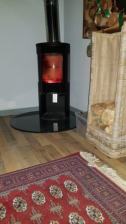 Wood Burning Stove Creates the perfect Cosy Atmosphere