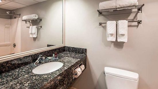Bethel, CT: Guest Bathroom
