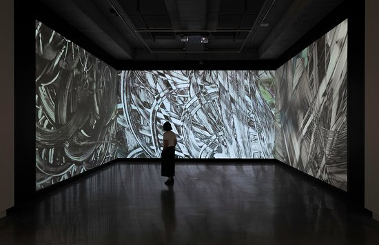 Installation view, 'The Garden of Forking Paths', Buxton Contemporary, University of Melbourne, 7 November 2018 - 17 February 2019, photograph by Christian Capurro