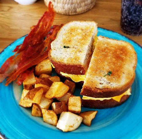 Bacon breakfast sandwich with extra bacon