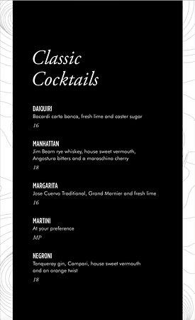 SO/ Auckland: HI-SO food menu