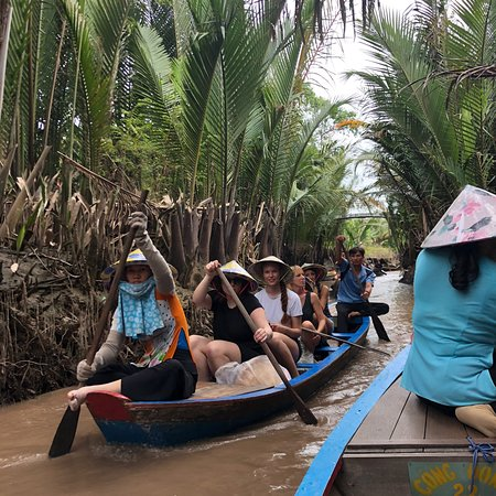 Mekong floating market two days with Ele