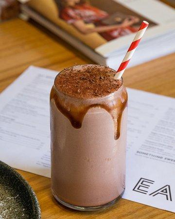 Mork Dark Chocolate Milkshake