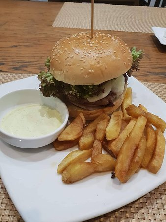 Best Burger and Fries