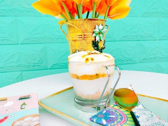 Passion Fruit & Cream Yogurt