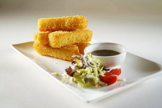 Non Kitchen: Deep-Fried Mozzarella Cheese